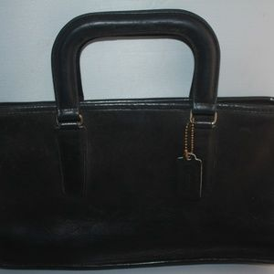 Vintage COACH Bonnie Cashin Black Leather Bag